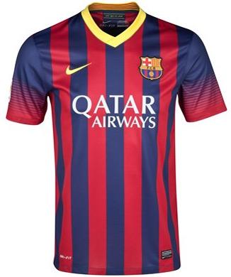 camisa FC Barcelona 2013 2014