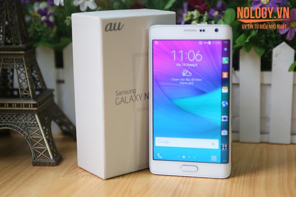Đánh giá thiết kế của Samsung Galaxy Note Edge Docomo