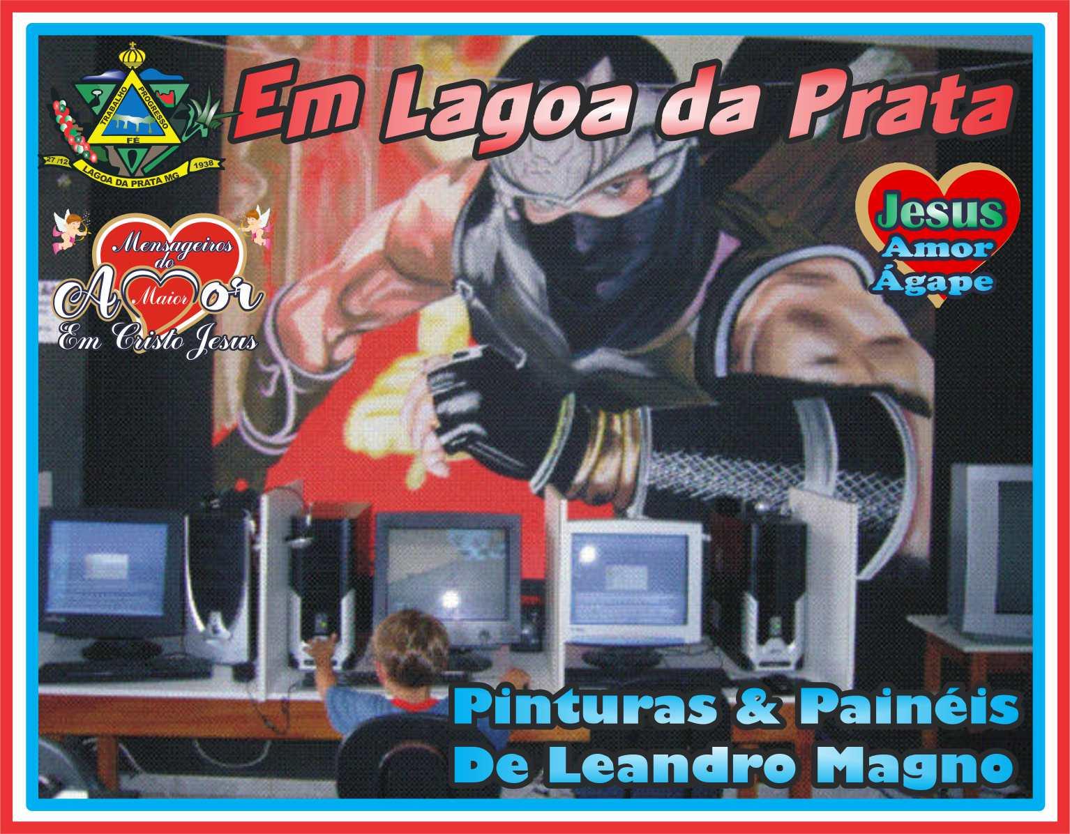 Obras de Leandro Mágno
