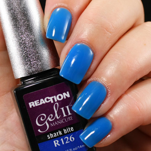 Gel II Reaction Shark Bite Swatch Warm, Gel Polish