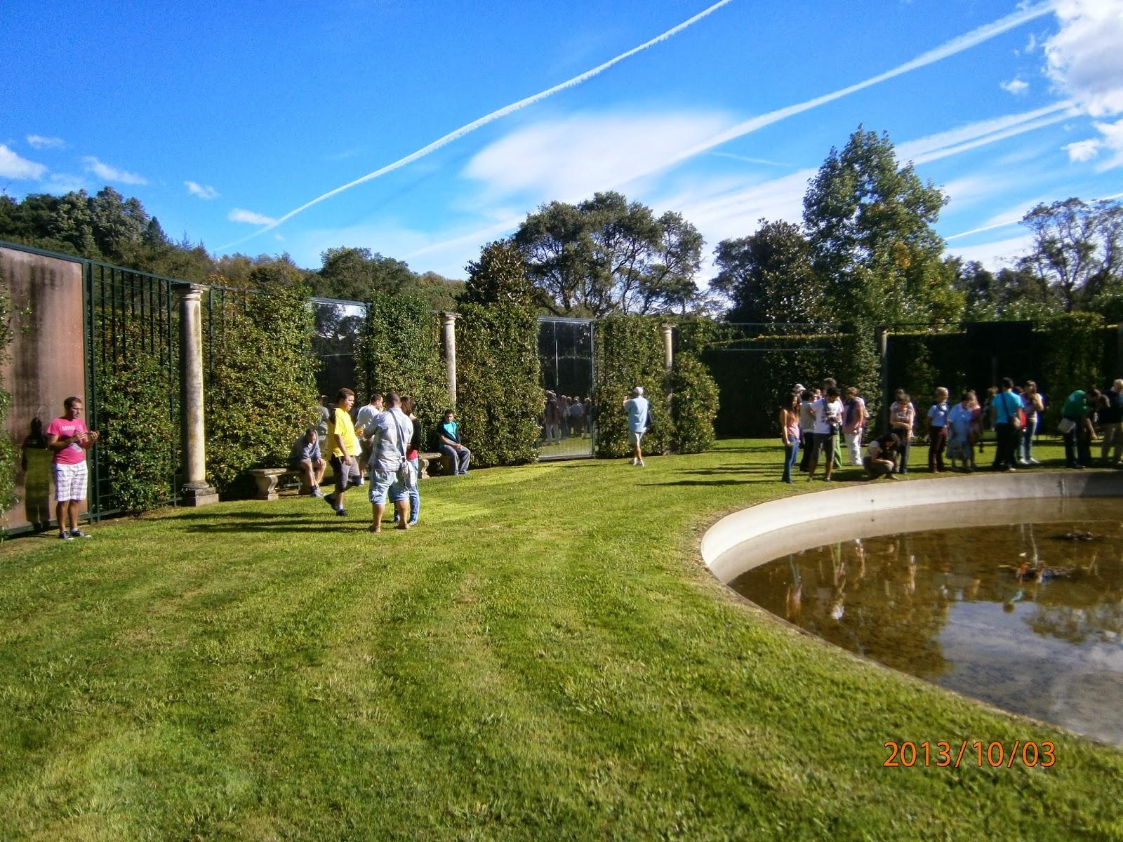 Centro entorno visita a los jardines de la finca puente san miguel - Jardines puente cultural ...