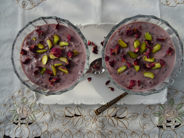 Black rice kheer