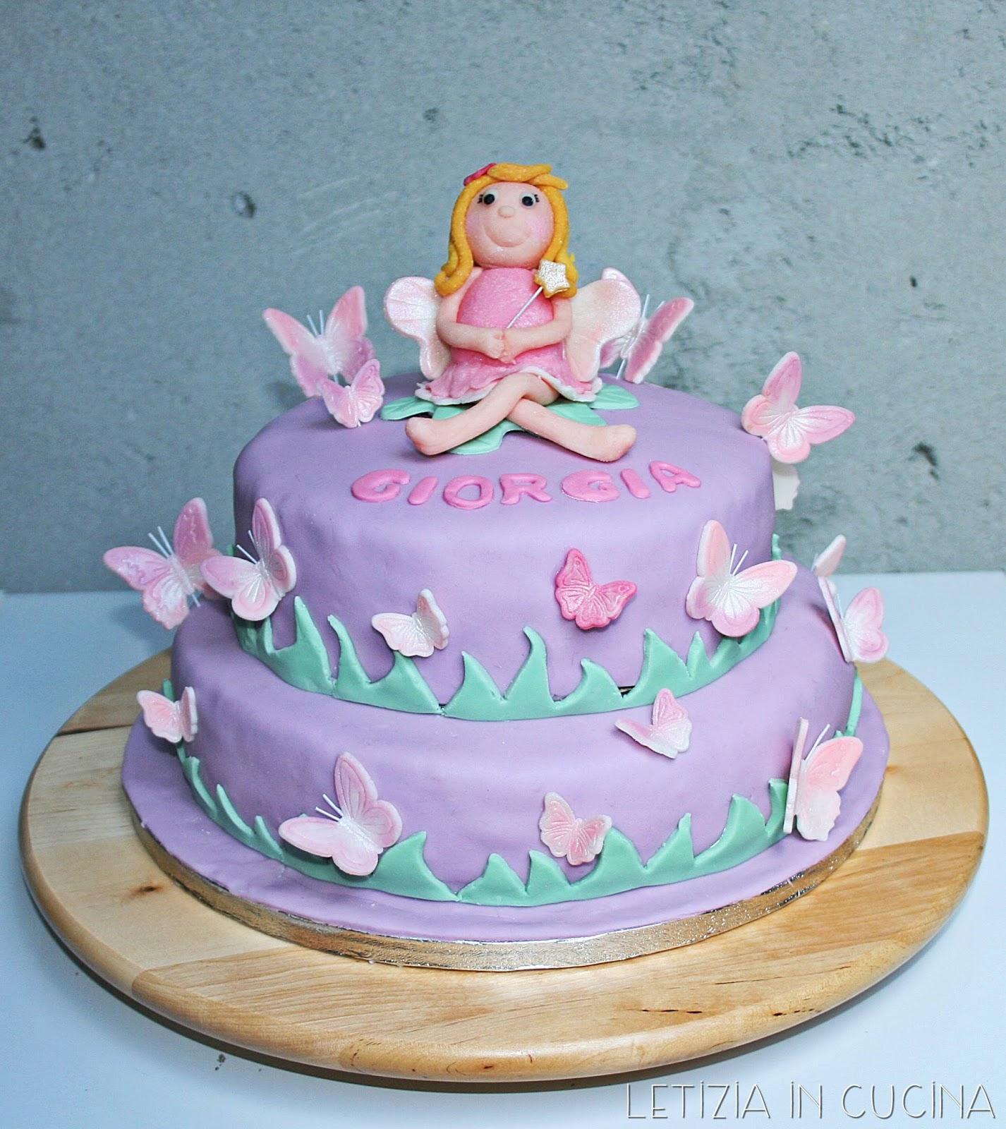 Letizia in Cucina: Torta Fatina e Farfalle