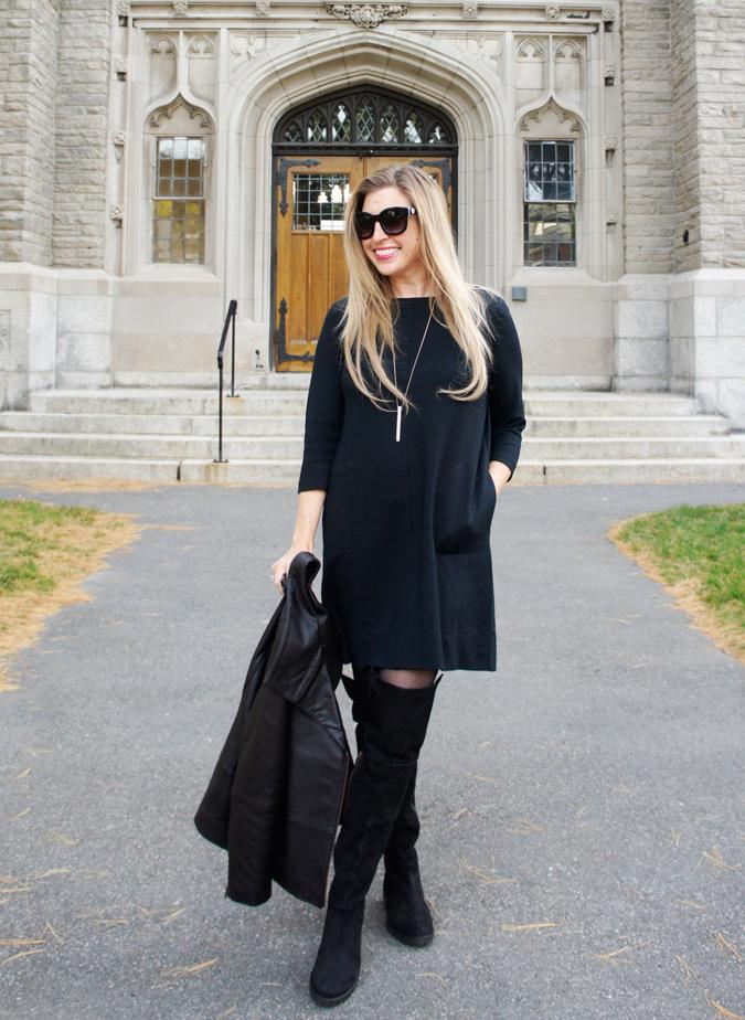 J.Jill ponte knit dress