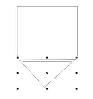 membuat objek segitiga