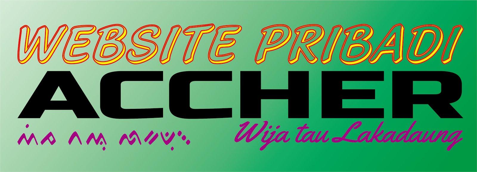 Website Pribadi Accher