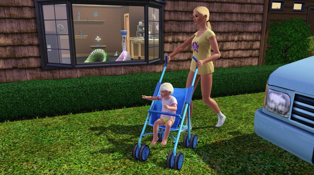 Как сделать ребенка симс