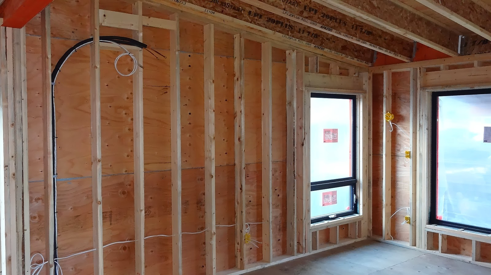EIFS, Wiring and Concrete ... | A & J\'s RETIREMENT ADVENTURE