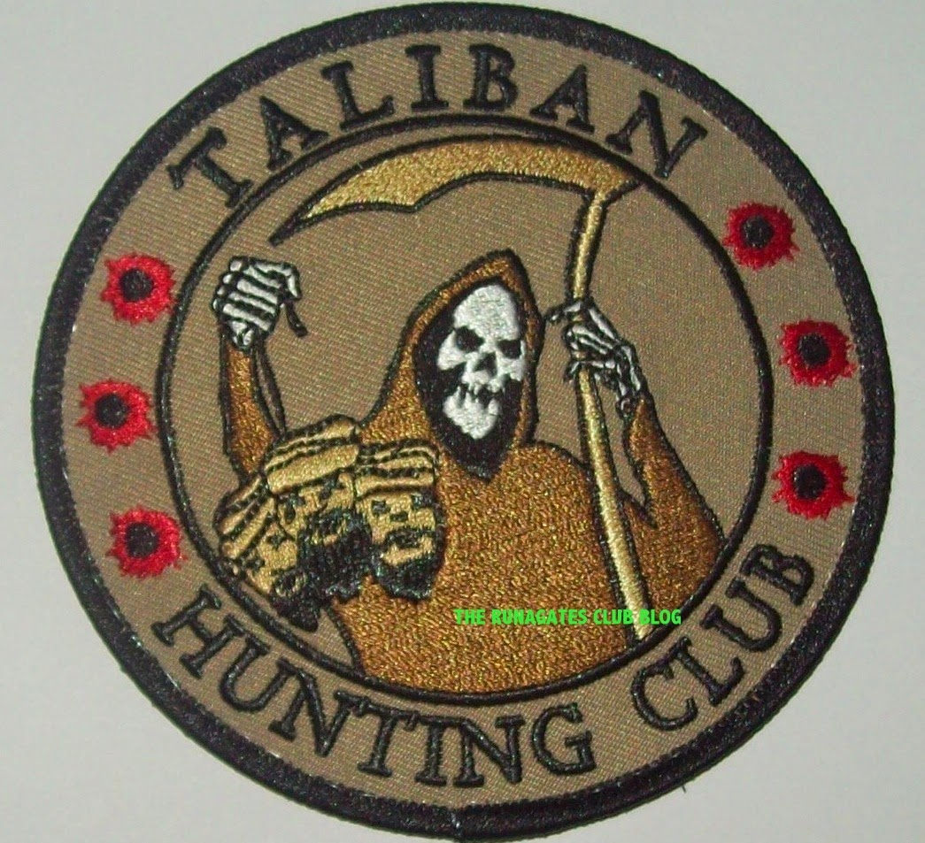 Taliban Hunting Club,  U.S. manufactured patch