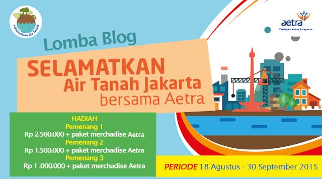 lomba blog aetra