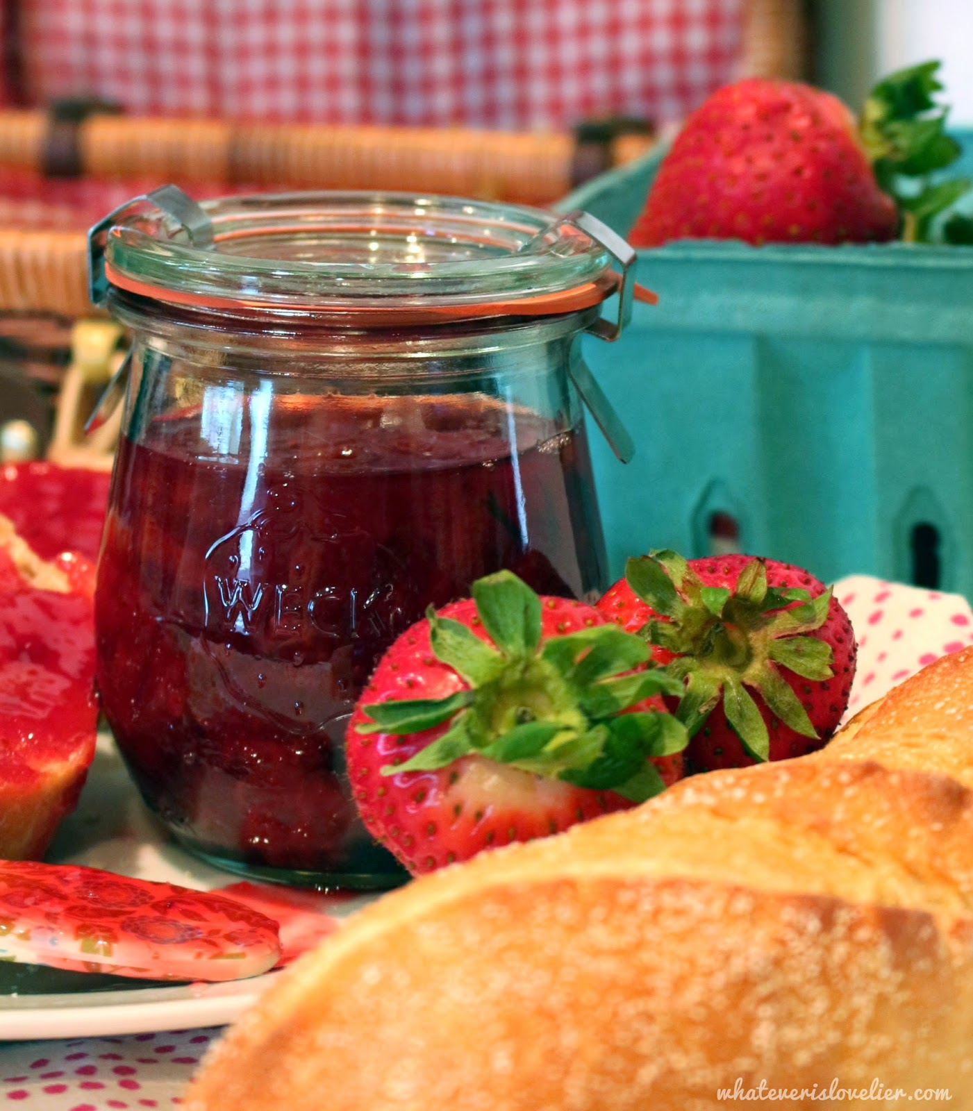 Recipe: Strawberry Basil Jam