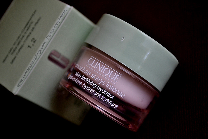 Clinique Moisture Surge Intense Cream Gel Dry Skincare Makeup Beauty Blog Ingredients Reviews