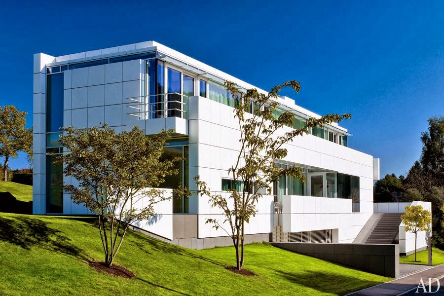 Solange albinati arquitetura minimalista for Luxembourg house