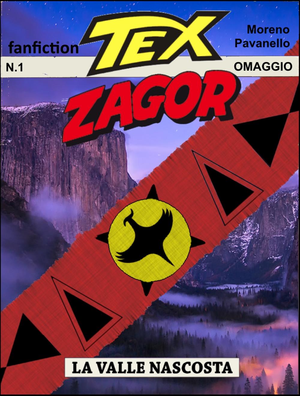 Una nuova fanfiction: Tex-Zagor: La Valle Nascosta