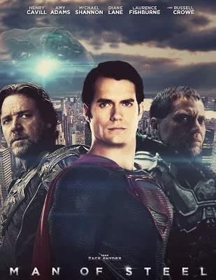 Poster Of Man of Steel (2013) Full Movie Hindi Dubbed Free Download Watch Online At worldfree4u.com