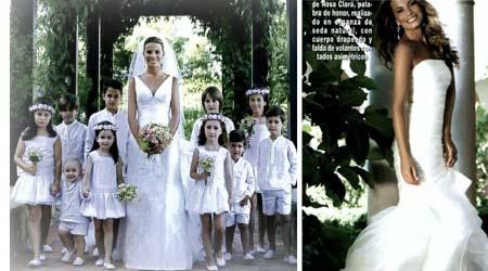 Vestido novia carla goyanes