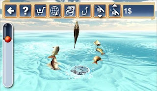 Screenshots of the Winter fishing 3D 2 for Android tablet, phone.