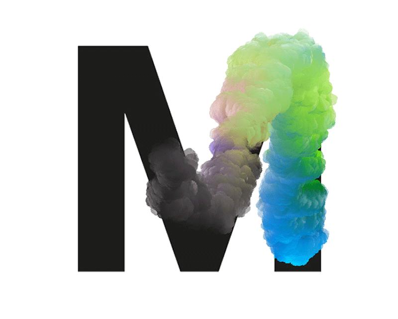 tipografía Chemical Cloud de José Bernabé