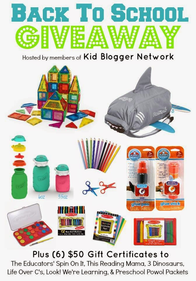 Back to School KBN Giveaway