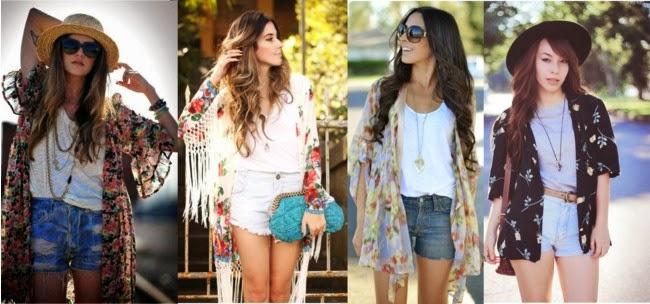 kimonos-kimono feminino-short jeans-short jeans feminino-shorts jeans-colar-colares-collier-collar-roupas femininas-moda