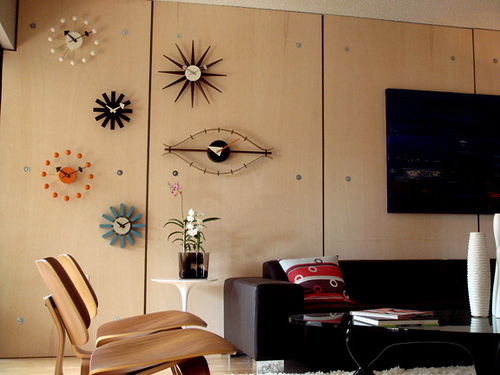 The Firm Made Over 150 Clock Designs Alone Including The Ball Clock, First  Image Below, The Eye Clock, And The Sunflower Clock.