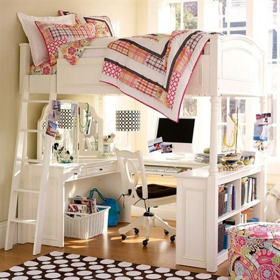 Dorm room decorating ideas dorm room ideas for girls for Girls bedroom decorating ideas with bunk beds