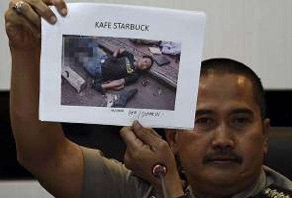Polis siar nama mereka yang maut dalam serangan di Jakarta