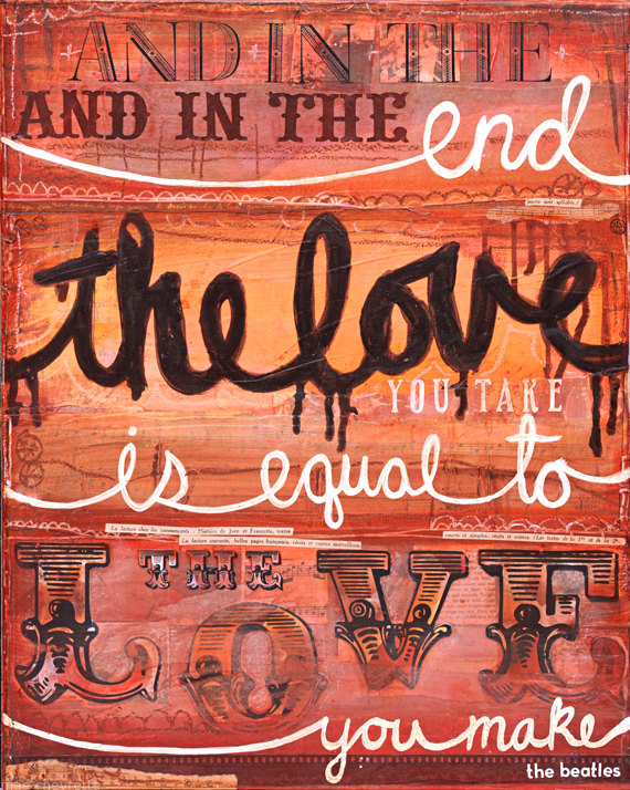 Indie Business: Using Quotes in Artwork - Collage by Mae Chevrette