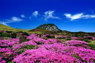 El monte Halla es un ícono dentro de la isla Jeju, en Corea