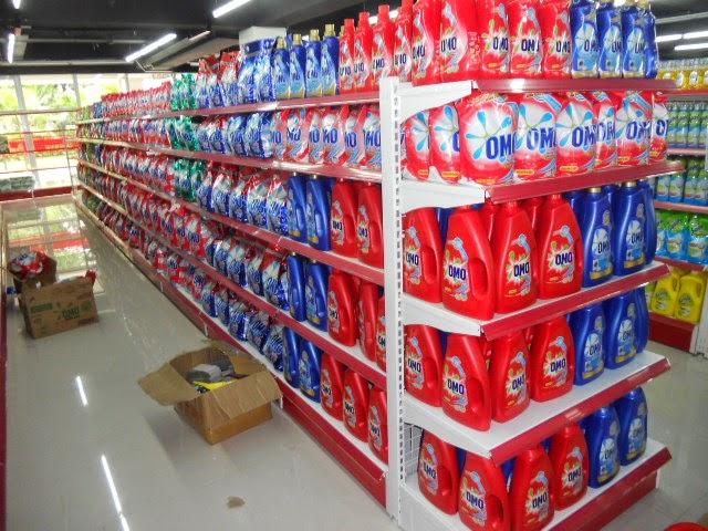 thu mua giá kệ siêu thị