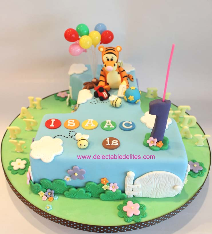 Tigger Birthday Cake Images