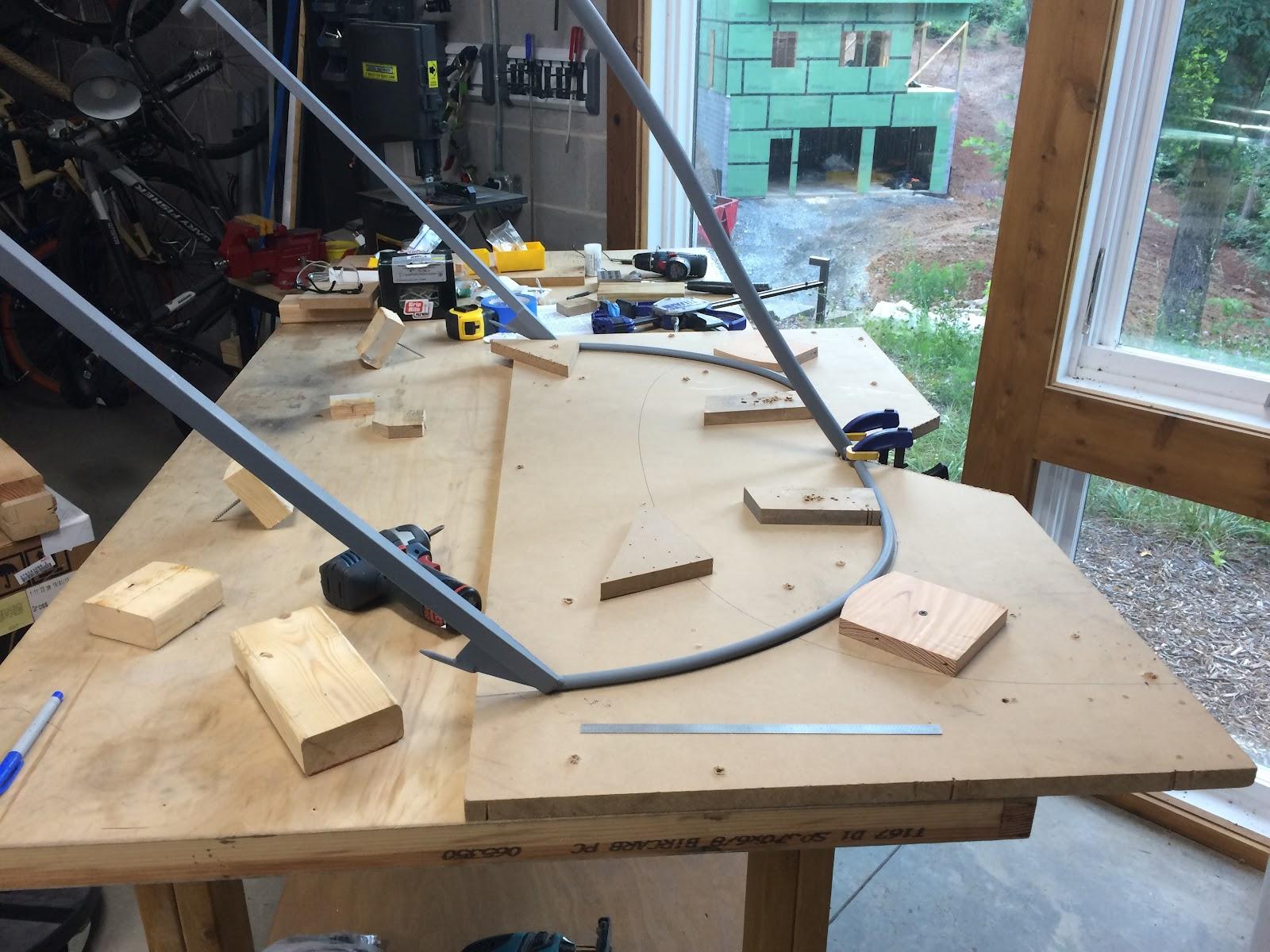 canopy frame bending 45 hours