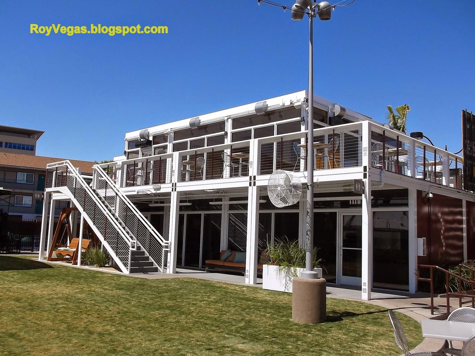 Roy vegas downtown container park las vegas nv - Container homes las vegas ...