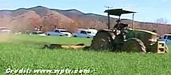 California Crop Circle Mowed Down