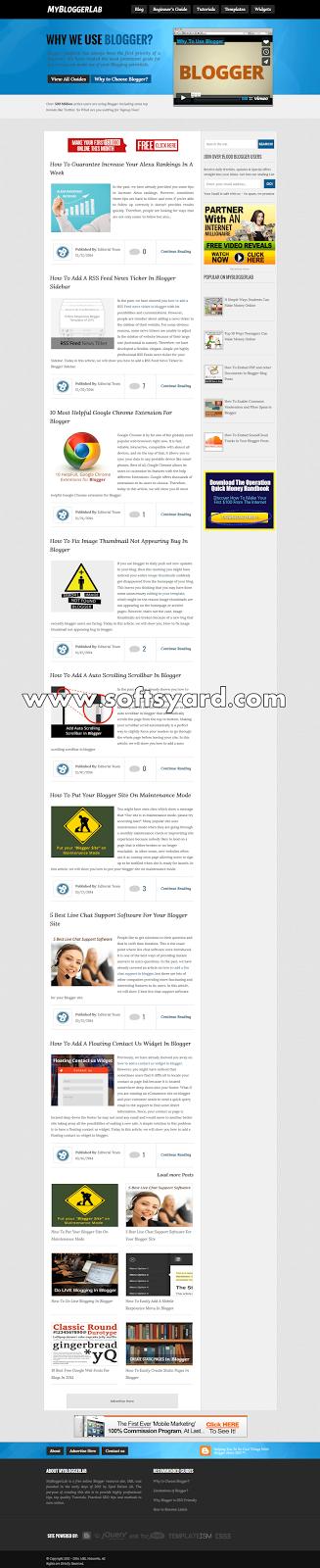 mybloggerlab v2 free download
