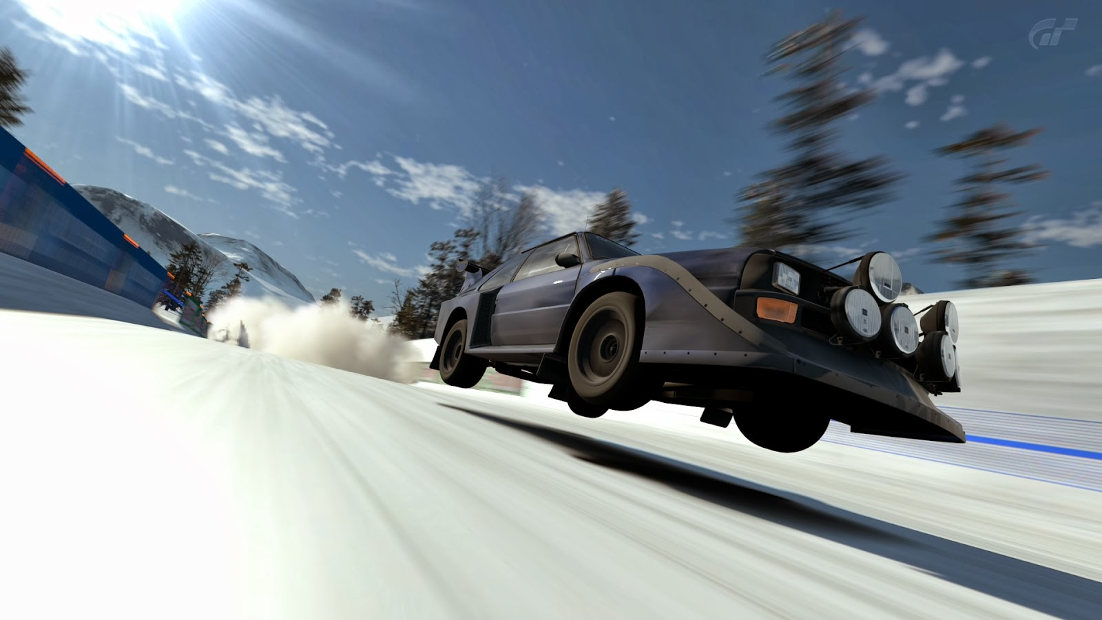 There are no extra rally circuits in gt6 so chamonix remains the only snowy location thankfully it s a pretty good one