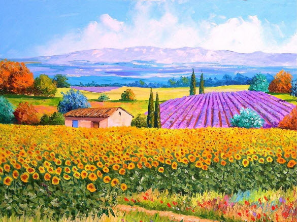 funny beautiful oil paintings