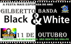 11.10.2014 BLACK / WHITE  COM GILBERTO E BANDA