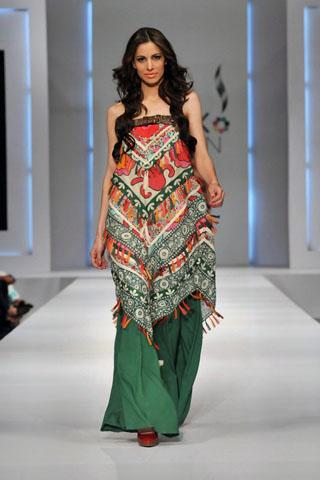 Khaadi collection 2011 at pfdc sunsilk fashion week 2011 1