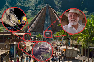 Jurassic World easter eggs