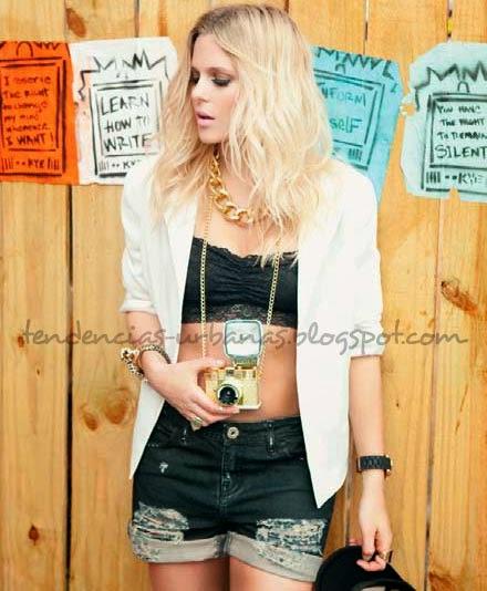 Shorts de moda juvenil verano 2014 Peuque