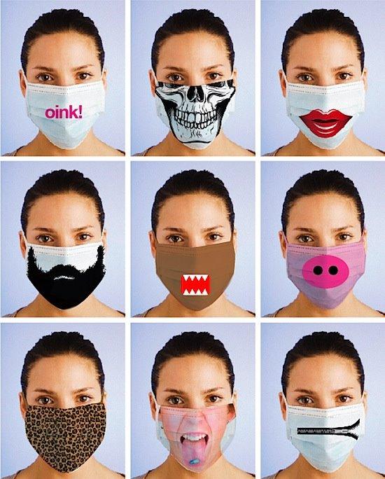 Máscara em volta de olhos a 25