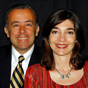 President Alin Spannaus and Sister Andrea Spannaus