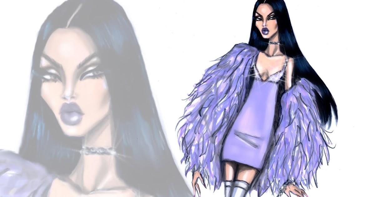 Hayden Williams Fashion Illustrations: UnFURgettable by ...