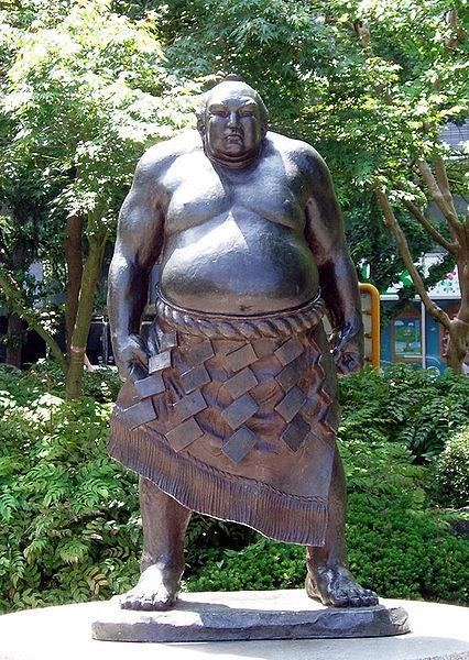 Yokozuna Tanikaze at Kōtōdai park