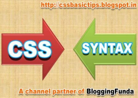 CSS Tutorial by CSSBASICTIPS a channel partner of BloggingFunda