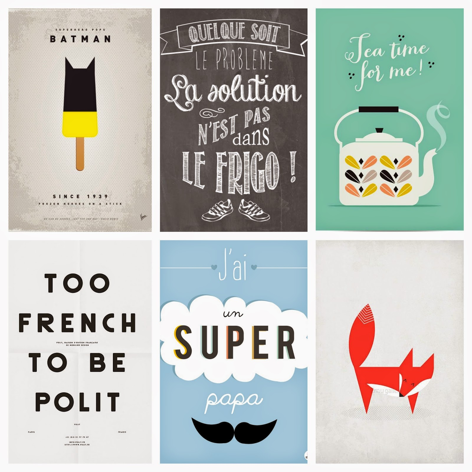 Super Dimanche Pinterest #12 (Affiches) - From France With Love JP98