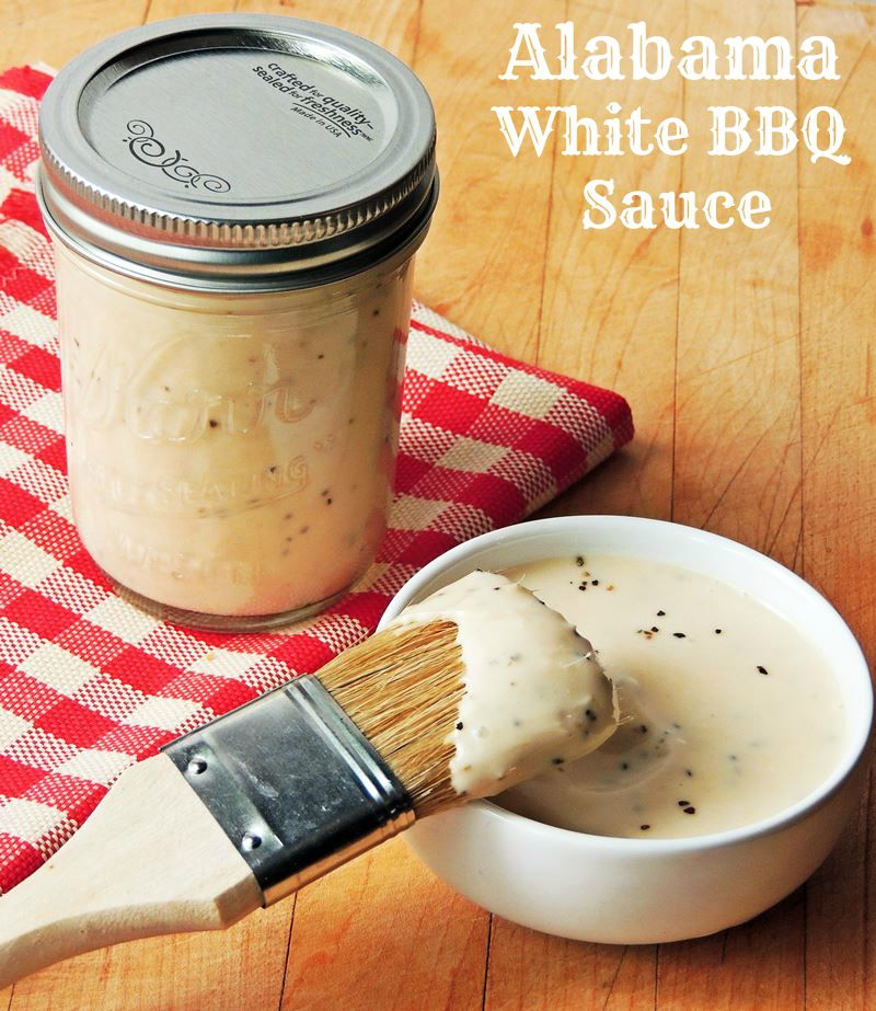 Alabama White BBQ Sauce - Tangy and creamy, if you are looking for ...