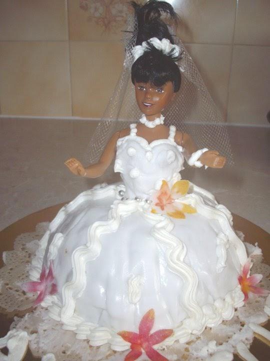 La Pâtisserie de Brunette: Gâteau Barbie Noire