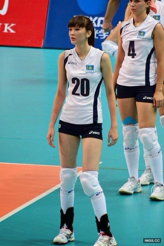Sabina Altynbekova Pemain Volly Cantik dari Kazakhstan